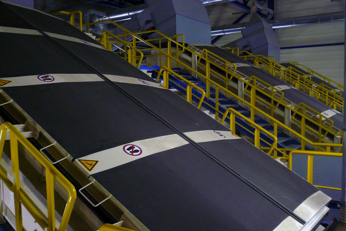 Recycling waste screen | SPALECK
